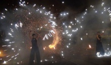 Teatr Tancerzy Ognia Nam-Tara zwieńczył rudzką Industriadę [VIDEO]